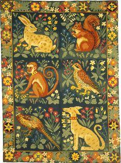 Ehrman Tapestry - Hunting Rug  $950.00