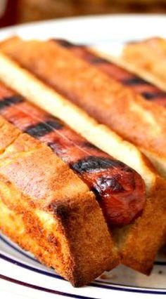 New England-Style Hot Dog Buns Recipe