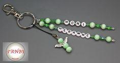 Schlüsselangänger Hebamme schützender Engel Nr. 4 von TANBI-mommies auf DaWanda.com