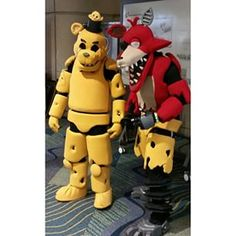 These nightmarish machines from Five Nights at Freddy's. | 39 Costumes From Megacon That Will Blow Your Mind