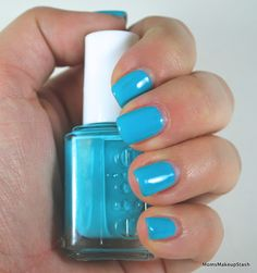Absolutely LOVE this color. I should've bought 2 bottles... Essie In the Cab-Ana (Resort Collection 2013)