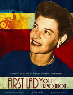We are so excited to share the official film poster for First Lady of the Revolution! #documentary #film #CostaRica #revolution #FLOR #FirstLady #Alabama