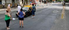 #CortesDeLuz: Los vecinos protestaron cortando las calles.