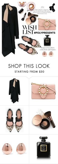 """""""#PolyPresents: Wish List"""" by nataskaz ❤ liked on Polyvore featuring Fendi, Miu Miu, Max&Co., Nude by Nature, Monica Vinader, Chanel, contestentry and polyPresents"""