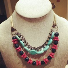 Cute necklace to wear with jeans