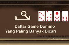 Daftar Game Domino Yang Paling Banyak Dicari