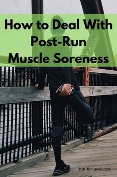 Post-run muscle soreness should go away on its own after a couple of days, here are some tips for dealing with it so you can get back to your training. Running Diet, Running On Treadmill, Get Running, Running Workouts, Running Training, Running Muscles, Running Injuries, Sore Muscles, Post Marathon Recovery