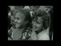 День авиации. Воздушный парад в Тушино под Москвой. 18 августа  1937 год