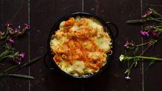 Hlídáte si sacharidy? Udělejte zdravou variantu bešamelu a zapečte s květákem Kefir, Mashed Potatoes, Cauliflower, Macaroni And Cheese, Vegetables, Ethnic Recipes, Food, Red Peppers, Mac Cheese