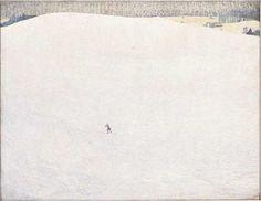 «Paysage de neige, dit aussi Grand Hiver», du peintre suisse Cuno Amiet (1868-1961).