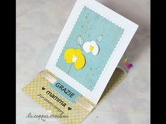 Easel Card per la Festa della Mamma-Biglietto Auguri Festa della Mamma-Scrapbooking Tutorial - YouTube