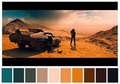 Cinema Palettes reúne as principais paletas de cores de grandes clássicos do…