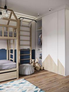Childrens Bunk Beds with sofa . Childrens Bunk Beds with sofa . Childrens Bunk Beds, Kids Bunk Beds, Kids Bedroom Designs, Kids Room Design, Bedroom Wardrobe, Girl Room, Girls Bedroom, Room Inspiration, Room Decor