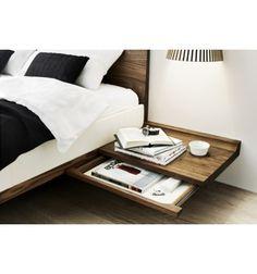 Betten - Riletto Bett mit Holzhaupt - Möbel Ryter - Möbel auf Mass Bern / Thun