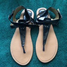 Torrid Plastic Sandals Good condition, worn two or three times, make an offer! torrid Shoes Sandals