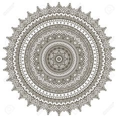 Mandala. Round Ornament Pattern. Vintage Decorative Elements... Royalty Free Cliparts, Vectors, And Stock Illustration. Pic 42202969.