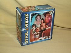 STAR WARS PUZZLE PRINCESS LEIA PADME AMIDALA 100 PC SEALED 2002 MILTON BRADLEY #MiltonBradley