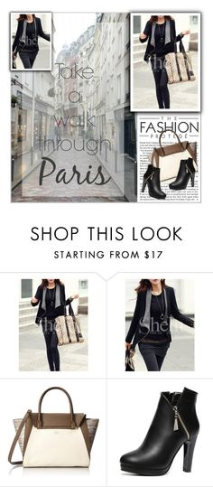 """Sheinside"" by water-polo ❤ liked on Polyvore featuring Vince Camuto, women's clothing, women's fashion, women, female, woman, misses, juniors, Sheinside and polyvoreeditorial"