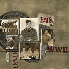 Dad - WWII...heritage military page.