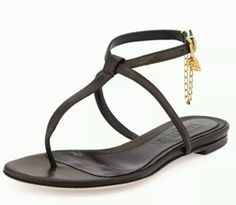 Alexander-McQueen-Skull-Chain-Black-Leather-T-Strap-Thong-Flats-39-660