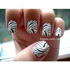 Zebra Acrylic Nails, Zebra Print, Luxury Fashion, Design