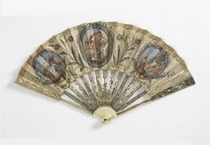Pleated Fan (France), ca. 1785