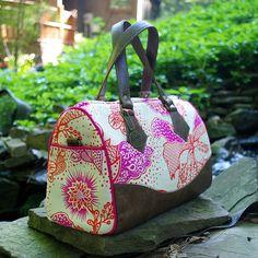 Swoon Patterns: Blanche Barrel Bag  PDF Vintage Bag Purse | Etsy