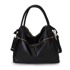 Laides Large Capacity Waterproof Nylon Fabric Handbag Shoulder Bags