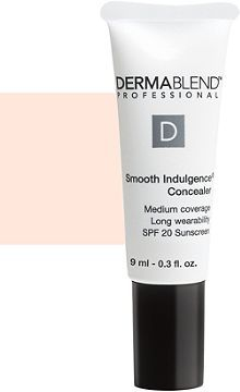 Dermablend concealer: gentle on sensitive skin and powerfully keeps blemishes and redness hidden