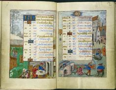 January - Hours of Joanna of Castile