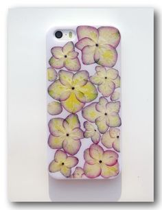 Real flower phone case, For iphone 5/5S, Pressed flower case (45)