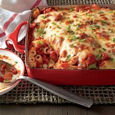 15 Oven Lovin' Baked Pasta Recipes: Baked Ziti with Sausage