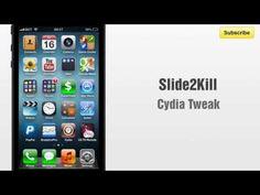 Slide2Kill cydia tweak allows you to slide down or app to kill a recent app - http://www.bestcydiatweaks.com/slide2kill.html