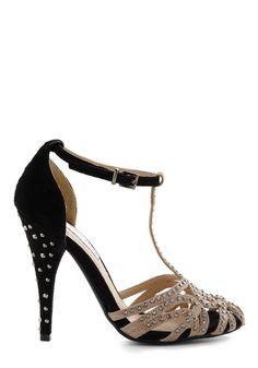 dbbf67a1dd5 Black and tan and rhinestones  lt 3 Rhinestone Heels