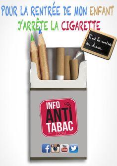 Jarrête la cigarette pour mes gamins !> arrêter la cigarette