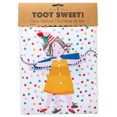 Toot Sweet Child Garland in Party Décor | The Land of Nod