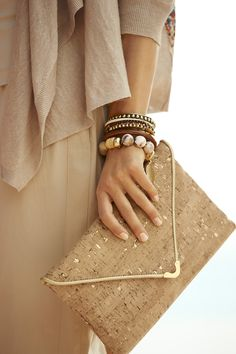I desperately want this crock clutch! I DO have a 40th birthday coming up ... Wink, wink.