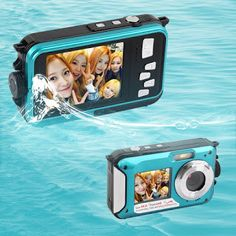 5MP CMOS 2.7inch TFT Digital Camera Waterproof 24MP MAX 1080P Double Screen 16x Digital Zoom Camcorder Wholesale (32730643838)  SEE MORE  #SuperDeals