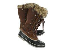 Sorel Womens JOAN OF ARCTIC PREMIUM cappuccino boots