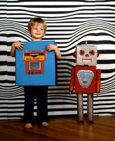Robot Costume Game