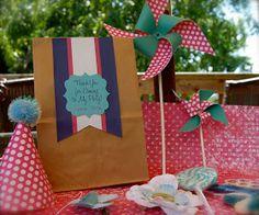 Beth Kruse Custom Creations: american girl party -- goodie bags