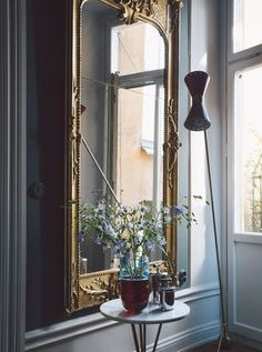 A Parisian inspired interior in Sweden. . .