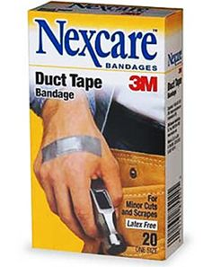 Duct Tape Trauma Kit. AWESOME!