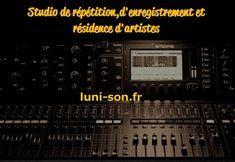 Studio de répétition, d'enregistrement et résidence d'artistes dans le département du Cher (18) Album, Concert, Dance Floors, Artists, Concerts, Festivals, Card Book
