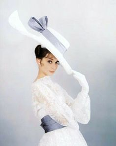 Audrey with big hat