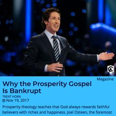 "Some popular preachers say that if we're faithful, God will make us rich. Trent Horn asks two simple questions that put this ""health and wealth gospel"" to the test. READ this #CatholicAnswers article here.   #prosperitygospel #gospel #Catholic"