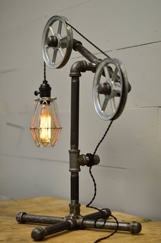 Industrial Table Lamp - - Amazon.com