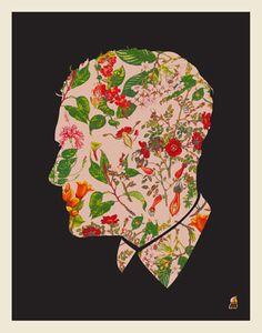 Floral man by Methane Studios