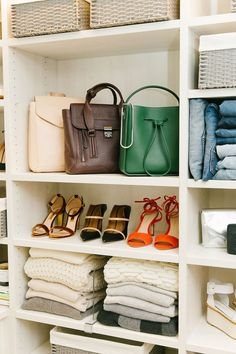 Spring cleaning inspiration: Take better care of your purses and bags.