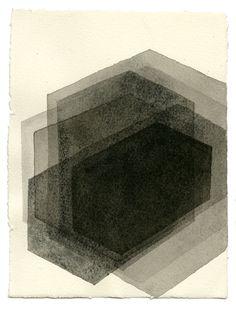 ROOM IV, 2014 drawing by Antony Gormley